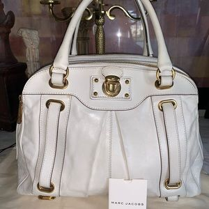 Marc Jacoba made in Italy leather bag🌹